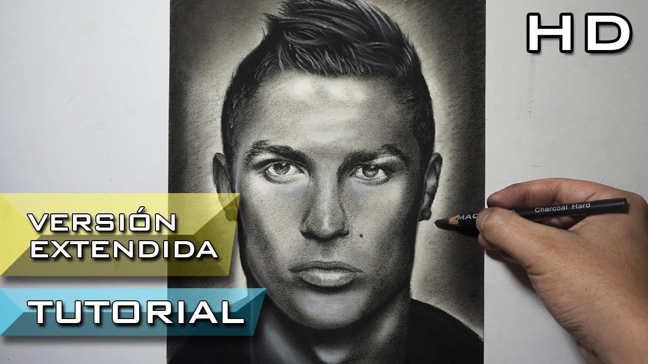 Descargar Dibujos De Alexis Sanches: Cómo Dibujar A Cristiano Ronaldo A Lápiz Paso A Paso