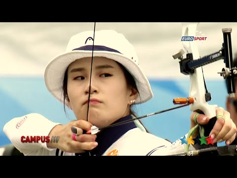 FISU Hero, Ki BoBae archer  40th CAMPUS Sport TV   FISU 2015