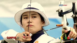 FISU Hero, Ki Bo-Bae archer - 40th CAMPUS Sport TV Show - FISU 2015