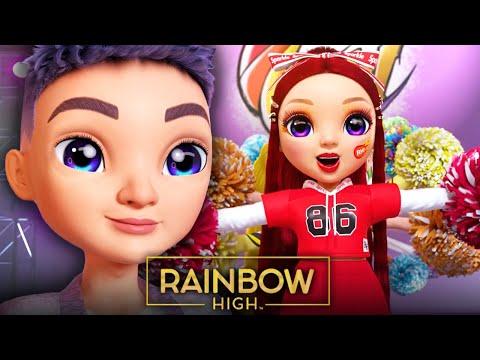 "Will Aidan Ruin Rainbow High's BIG Football Game?! | Episode 14 ""All About Aidan"" | Rainbow High"