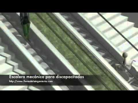 Escalera mec nica para discapacitados youtube for Escalera discapacitados