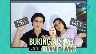 Kapuso Web Specials: Bukingan Time with the Legaspi twins
