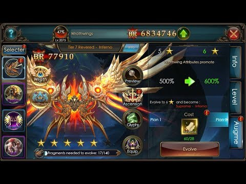Legacy Of Discord : Evolve Inferno Rank 6 With Astral Scroll - Eternal Dust (Imperius)