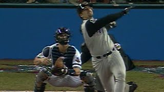 2001 WS Gm5: Barajas hits solo homer in the 5th