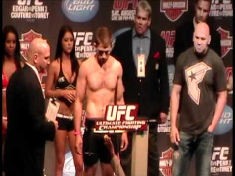 UFC 118 Weigh Ins part 1