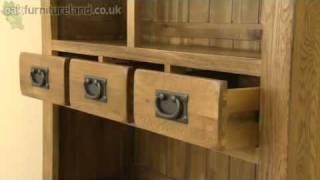 Rustic Solid Oak Dresser From Oak Furniture Land