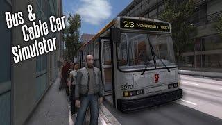 Bus & Cable Car Simulator: San Francisco. Bus Line 23. Первый рейс!