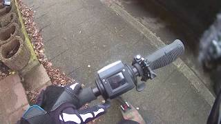 Action Cam Riding Footage - E-scooter Foldable Trotinette E-Twow 2020 Ride Action Camera