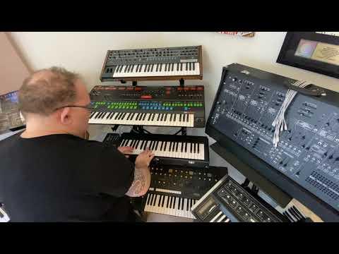 "Michael Whalen ""Thinking of Joe"" (jamming on Korg ARP 2600)"