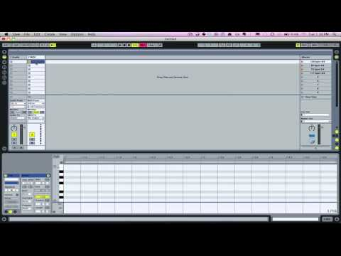 Creating Click Tracks  in Ableton Live