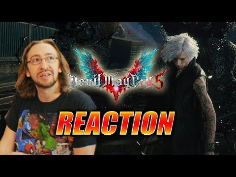 DOODS REACT: Devil May Cry 5 - V Reveal, Online Co-Op & More