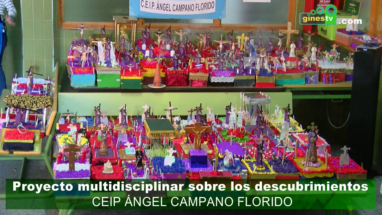 Proyecto multidisciplinar sobre 'Los Descubrimientos' en el CEP Ángel Campano