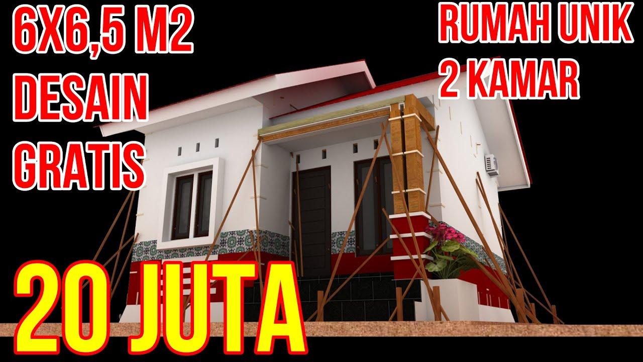 Bangun Rumah Minimalis Type 36 M2 Ukuran 6x6.5 Meter Dari ...