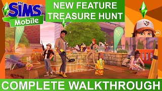 The Sims Mobile Treasure Hunt COMPLETE WALKTHROUGH of NEW live event