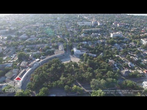 Аэросъемка города Таганрог (панорама)