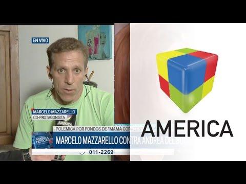 Marcelo Mazzarello y la novela de Andrea del Boca: No cobré los $ 98 mil que decía el pliego