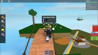 Roblox: Skyblock tycoon: Episode 2: Stone island here we come