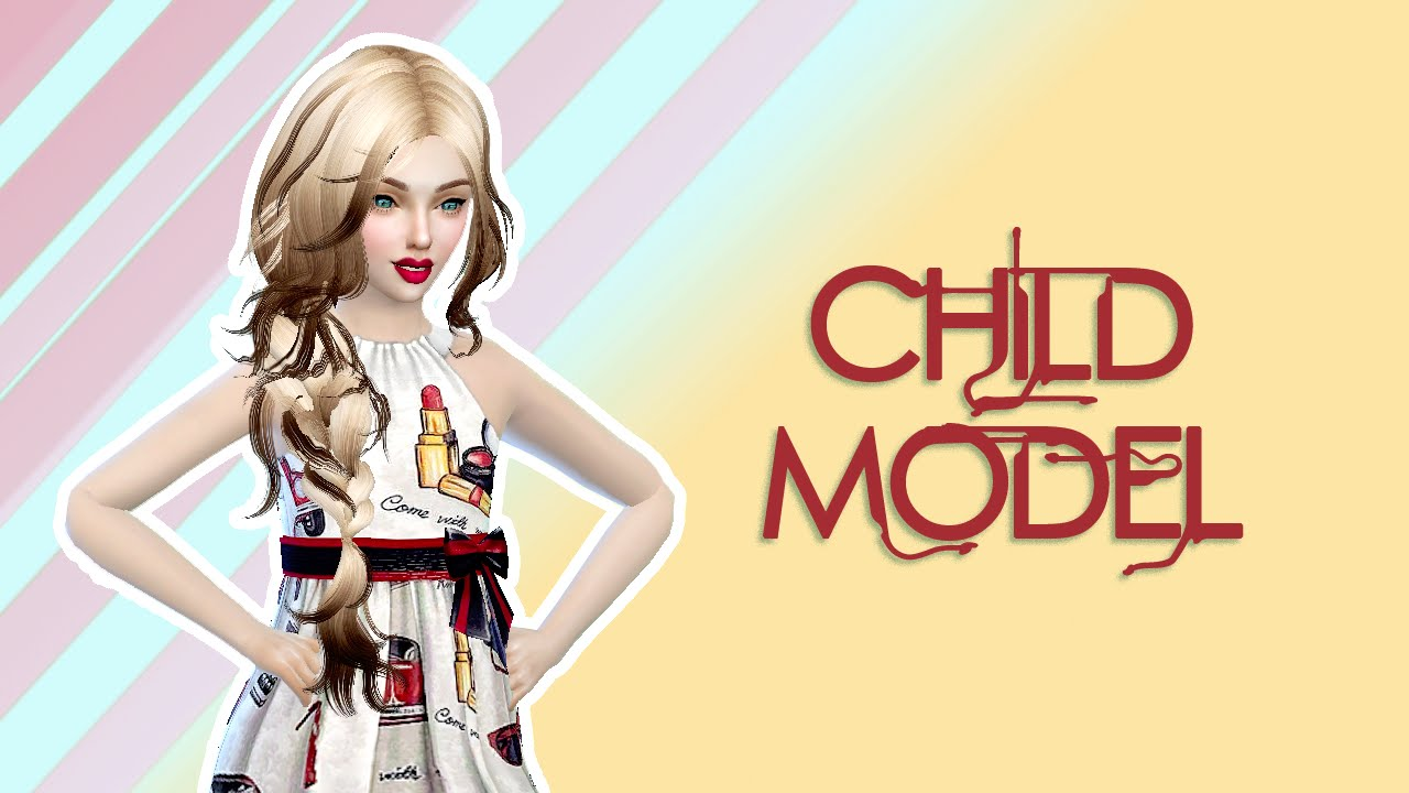 The Sims 4: Create A Sim Child Model - YouTube