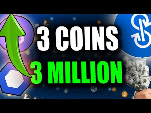 3 Altcoins To 3 Million - Top Altcoins Next 6-12 Months