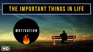 THE IMPORTANT THINGS IN LIFE - Motivational Video in English  A short film story  Rat Race  Alarm