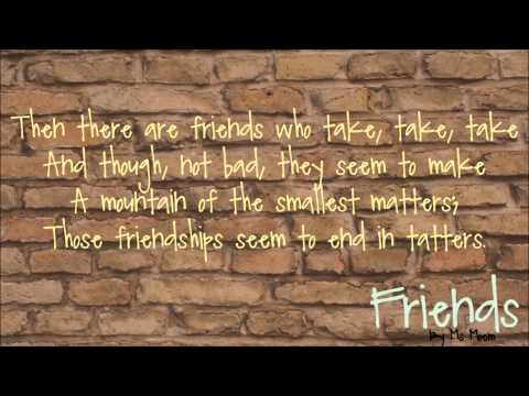 friends | friendship poem