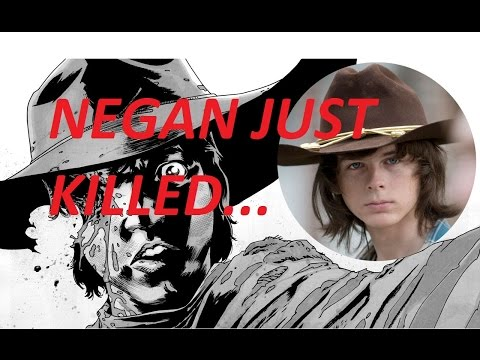 The Walking Dead - NEGAN KILLS CARL - Just His Hat!!!