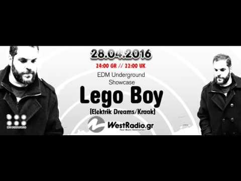 Lego Boy @ EDM Underground Showcase 28 04 2016  www westradio gr