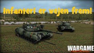 """Wargame - Dansk """"Infanteri mere infanteri"""""""