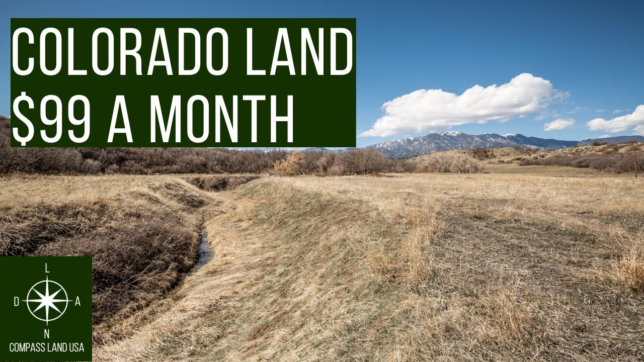 Sold by Compass Land USA - 0.4 Acres Land in Colorado $99 a Month