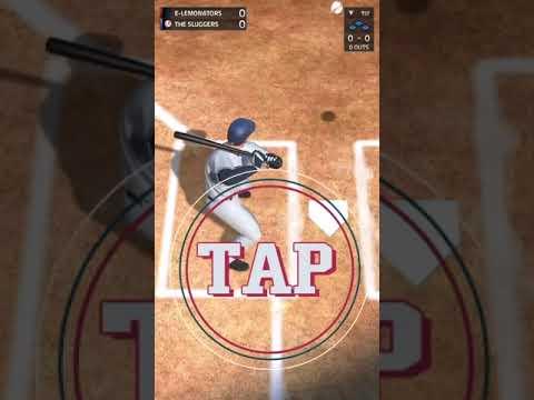 MLB Tap Sports Baseball 2020 store video