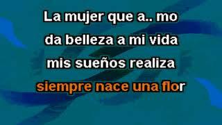 Roberto Carlos - La mujer que amo - Karaoke