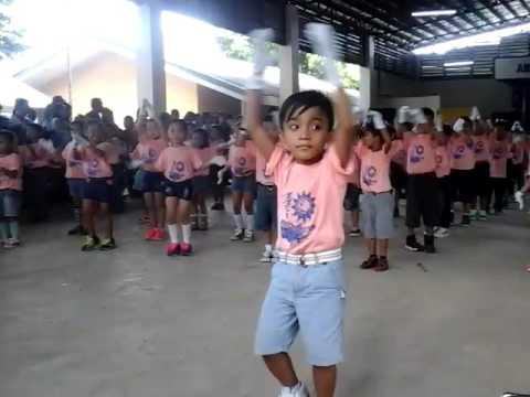 Student of Amancio Aguilar Elementary School Masbate.