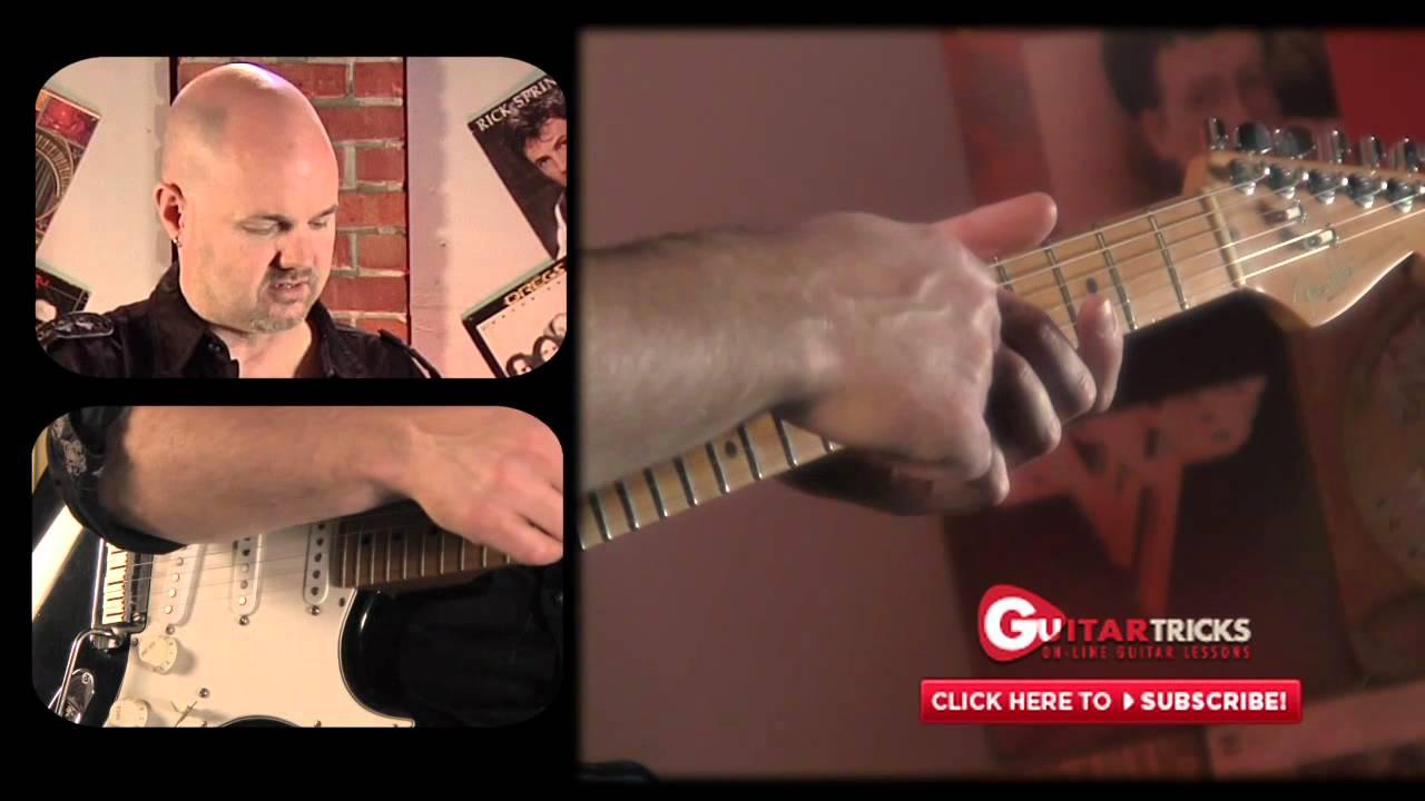 Easiest Blues Chord Ever Blues Guitar Lesson Guitar Tricks 105