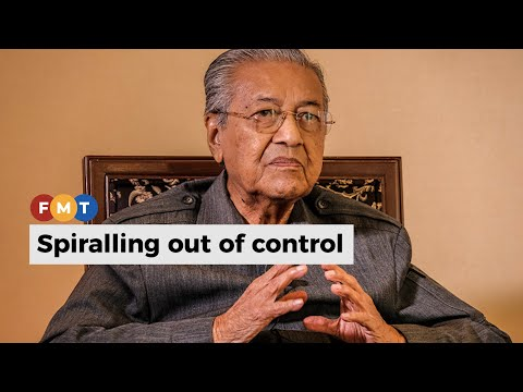 Corruption is endemic in Malaysia's political sytem, says Mahathir
