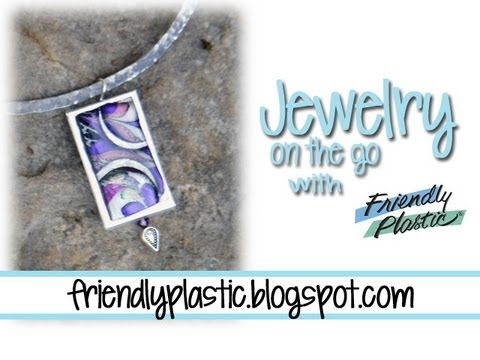Friendly Plastic Earrings in less than 30 Minutes - Jewelry On the Go!