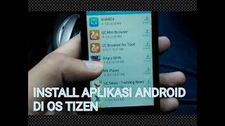Download lagu CARA INSTALL APLIKASI ANDROID DI OS TIZEN SAMSUNG Z2 (BISA BBM ?)