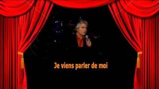 Karaoké Daniel Guichard   Je viens pas te parler d