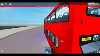 Roblox London Hackney & Limehouse bus Simulator E400 (Demonstrator) SLN Route 277 (Diversion)