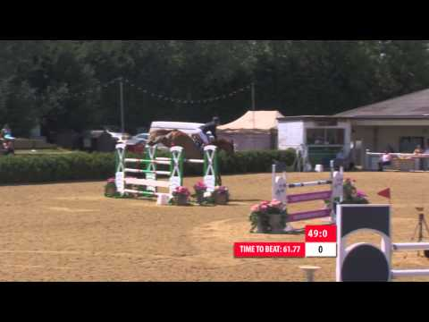 Showjumping  -Lance Whitehouse's Grand Prix Winning Round