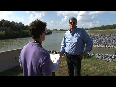 On the Border, Texas Politician Acts to Secure his District's Water Pump Station