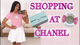 Lux Vlog: Shopping at Chanel - New Cruise Bags & Clothes