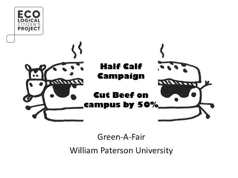 Half Calf Campaign: Cut Beef On Campus By 50%