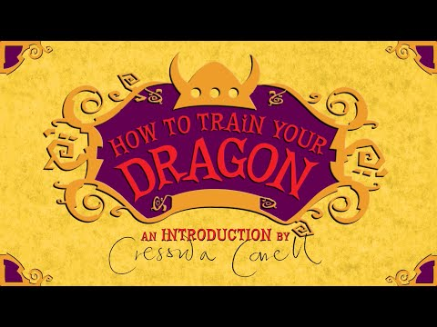 Cressida Cowell Introduces How to Train Your Dragon 12 (The FINAL book!)