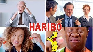 All The Best Hilarious Haribo Kids Voices Gummi Candy TV Commercials