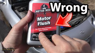 Changing Your Engine Oil You're Doing  T Wrong