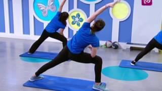 تمارين لتقوية عضلات البطن ونحت البطن - زينب