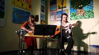 Kantele + guitar: Sua sydämestäni rakastan (Finnish folk song)
