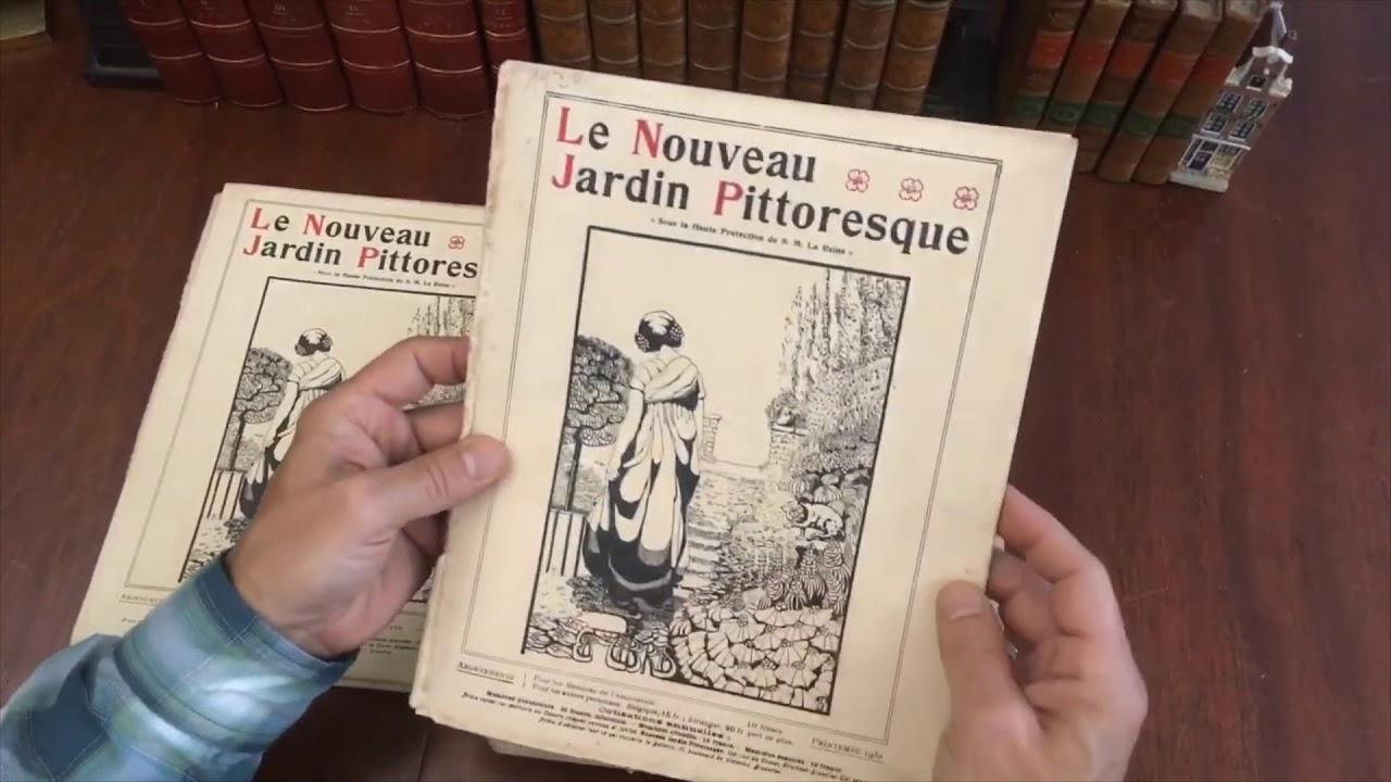 Landscape Gardening Le Nouveau Jardin Pittoresque 1930-39 magazine 40  issues run complete