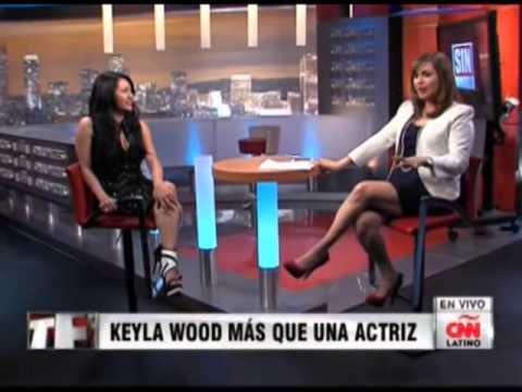 CNN LATINO Interview with  Actress Keyla Wood