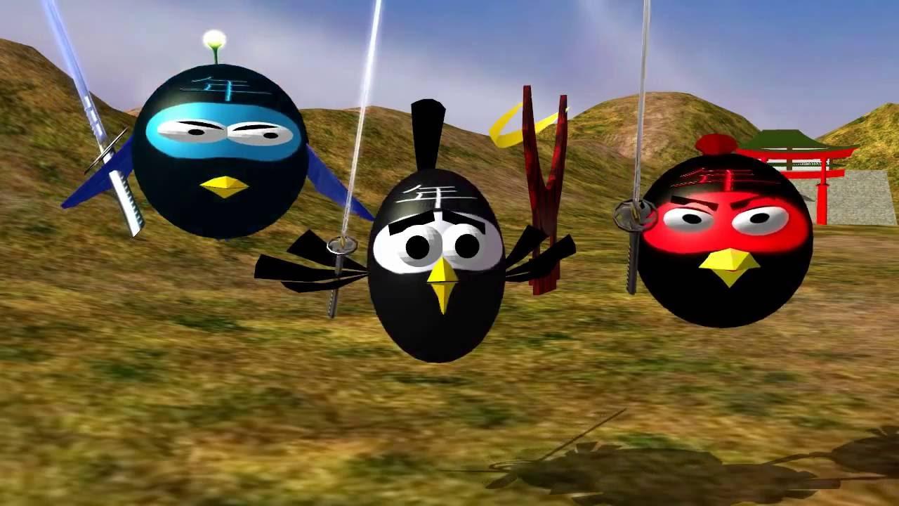 Fruit ninja 3d - Angry Birds In Fruit Ninja 3d Animated Spoof Funvideotv Style Www Getlinkyoutube Com
